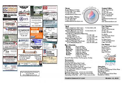2021 Bulletin March 14