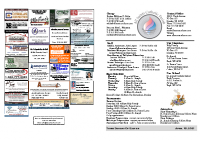 2021 Bulletin April 18