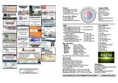 2021 Bulletin March 28