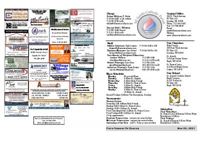 2021 Bulletin May 02